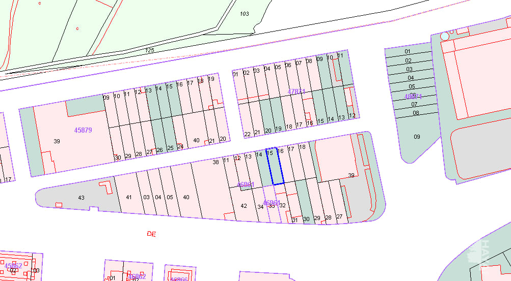 Suelo en venta en Cartaya, Huelva, Calle la Estacion, 51.251 €, 342 m2