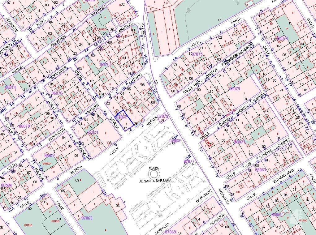 Piso en venta en Villanueva del Río Y Minas, Sevilla, Calle Murcia, 52.700 €, 4 habitaciones, 100 m2