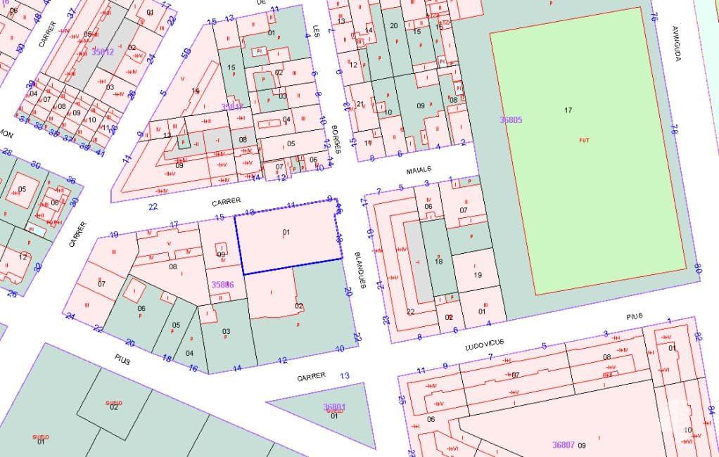 Piso en venta en Lleida, Lleida, Calle Maials, 435.500 €, 1 baño, 752 m2