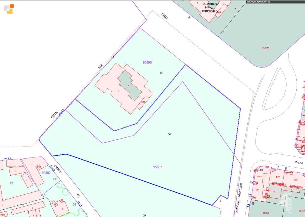 Suelo en venta en Elche/elx, Alicante, Lugar Carrus Poligono Industrial, 257.500 €, 9767 m2