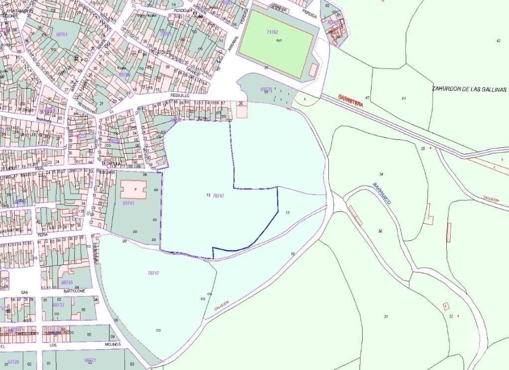 Suelo en venta en Alosno, Alosno, Huelva, Calle Plan Parcial P.p.2, 291.505 €, 68732 m2