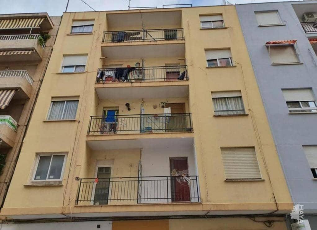 Piso en venta en L`alqueria de la Comtessa, Gandia, Valencia, Calle Sant Pere, 34.400 €, 3 habitaciones, 1 baño, 74 m2