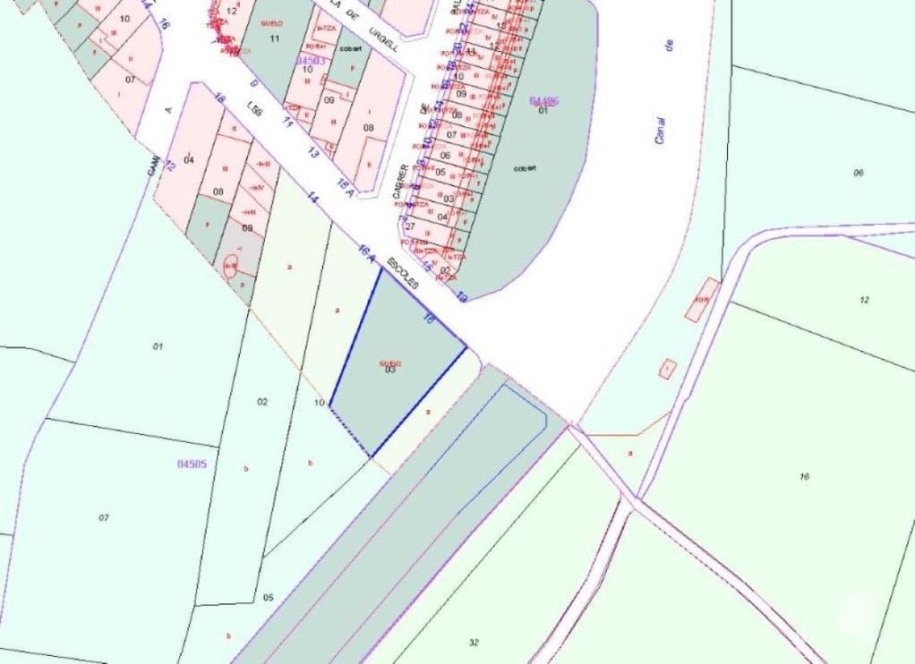 Suelo en venta en Albatàrrec, Albatàrrec, Lleida, Calle Escoles, 81.700 €, 931 m2