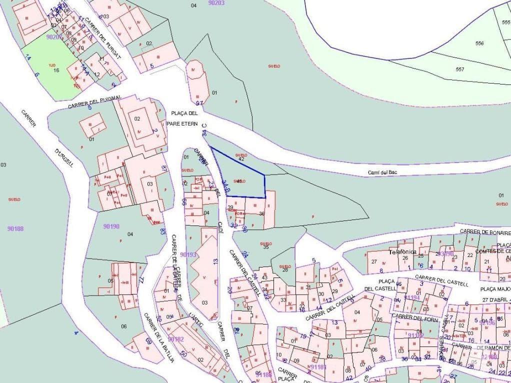 Suelo en venta en Bellver de Cerdanya, Bellver de Cerdanya, Lleida, Calle Cadi, 58.700 €, 325 m2