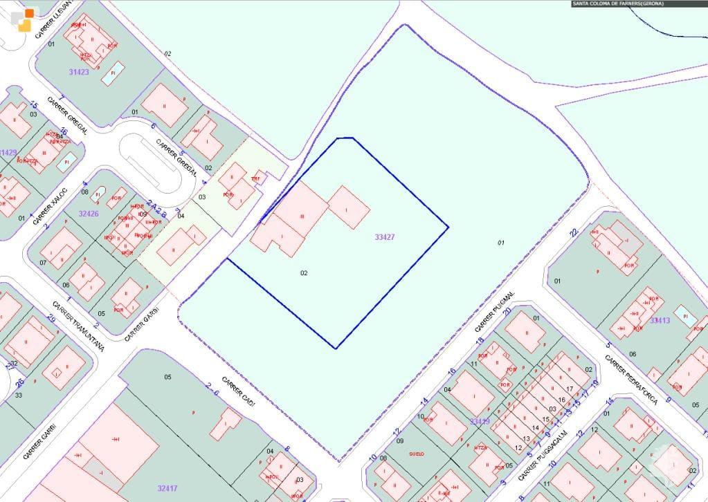 Suelo en venta en Santa Coloma de Farners, Girona, Calle Carrera Vella de Girona, 749.300 €, 43914 m2