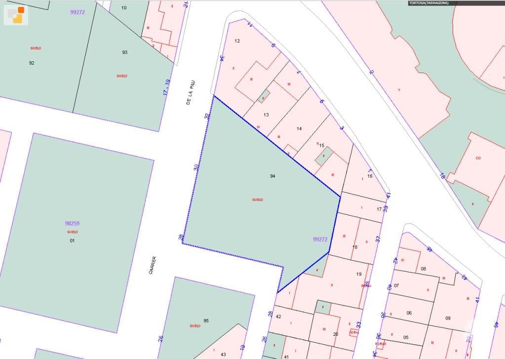 Suelo en venta en Bítem, Tortosa, Tarragona, Calle Pau (de La), 76.000 €, 528 m2