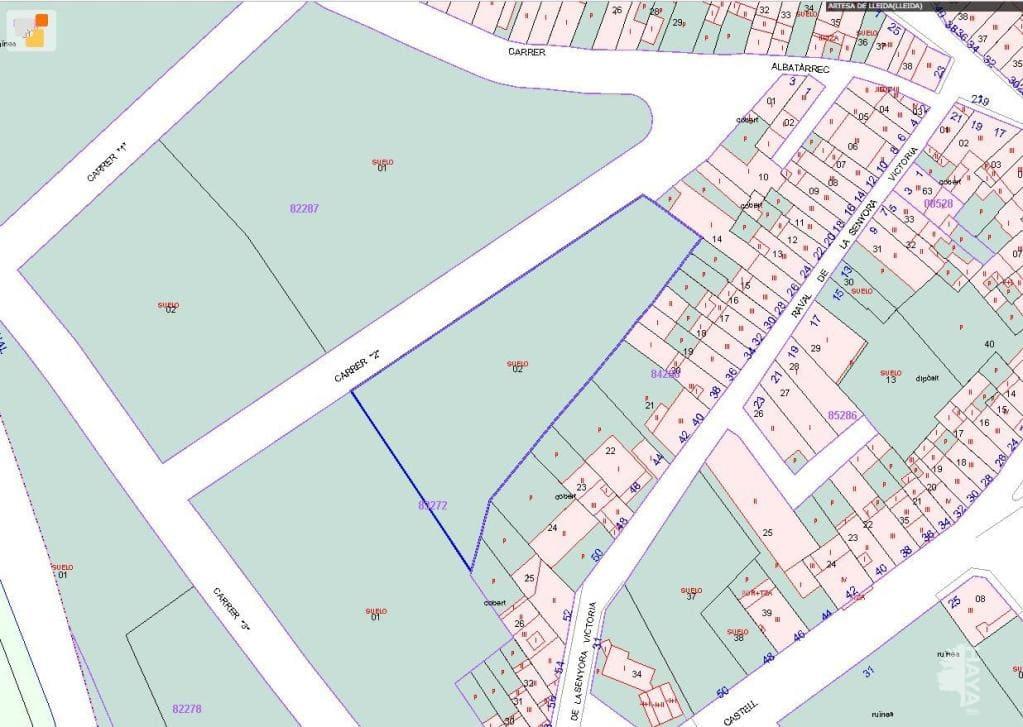 Suelo en venta en Artesa de Lleida, Lleida, Calle Dalbatarrech, 578.340 €, 24624 m2