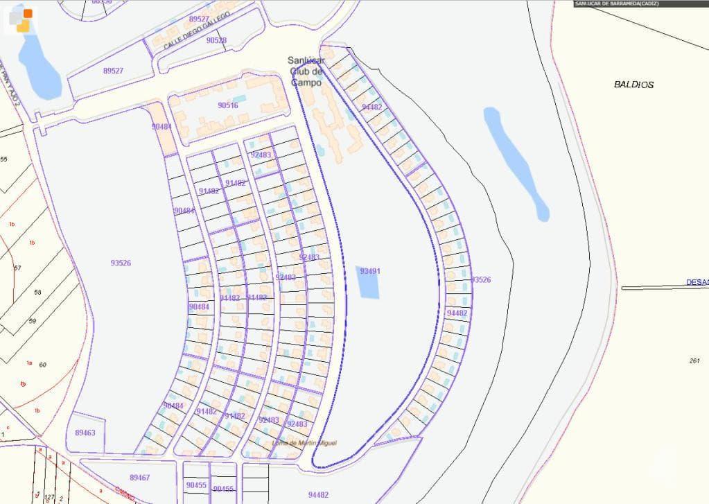 Suelo en venta en Sanlúcar de Barrameda, Cádiz, Avenida Juan de Zubileta, 1.061.400 €, 9477 m2