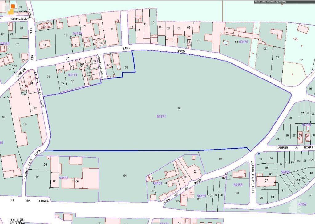 Suelo en venta en Bell-lloc D`urgell, Lleida, Calle Sant Jordi, 211.000 €, 56519 m2