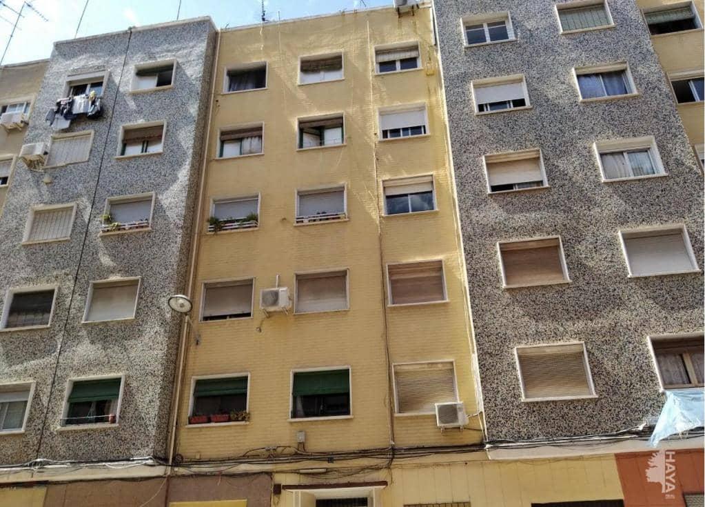 Piso en venta en Valencia, Valencia, Calle Daroca, 33.300 €, 3 habitaciones, 1 baño, 52 m2