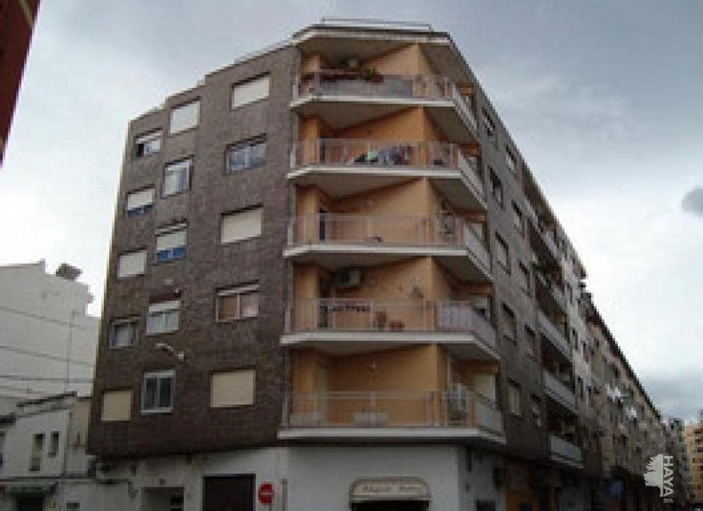 Piso en venta en Gandia, Valencia, Calle Poeta Llorente, 42.700 €, 4 habitaciones, 1 baño, 88 m2