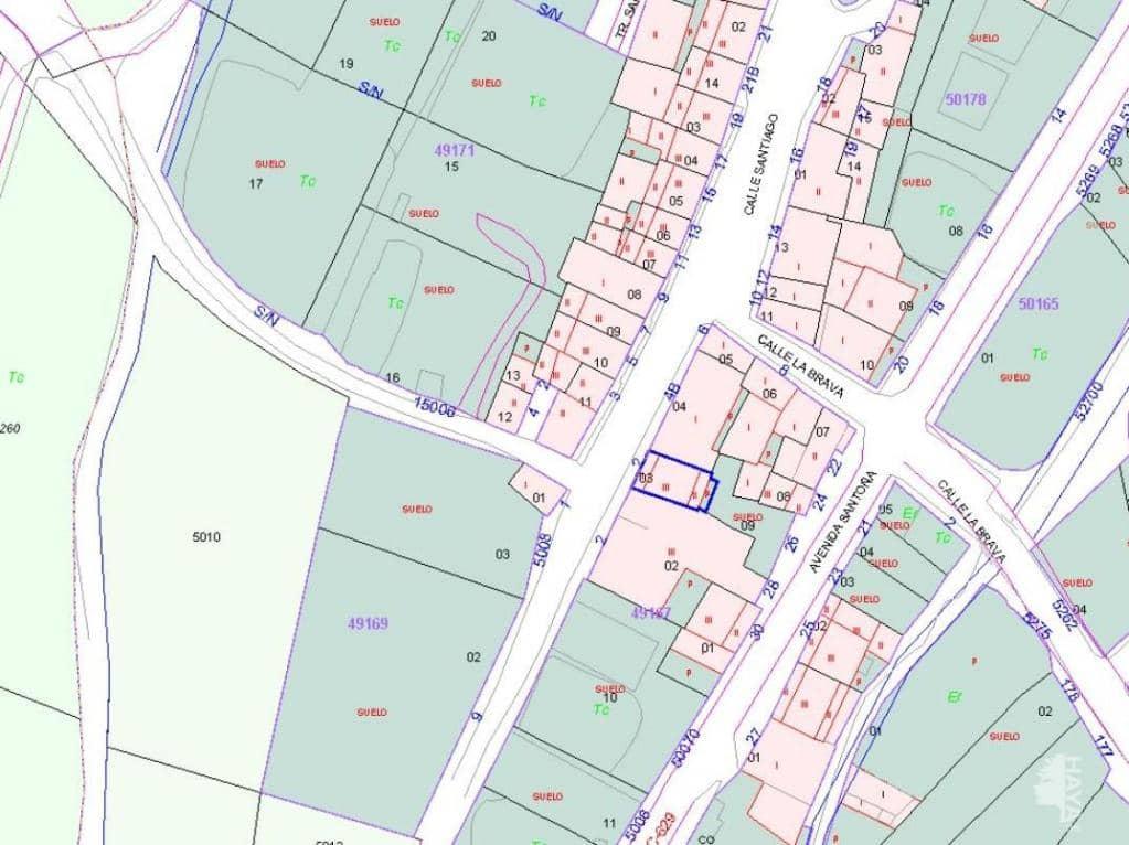 Suelo en venta en Burgos, Burgos, Plaza Santiago, 3.060 €, 75 m2
