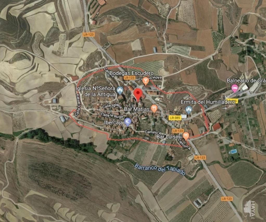 Suelo en venta en Grávalos, La Rioja, Pasaje Palancona, 1.800 €, 847 m2