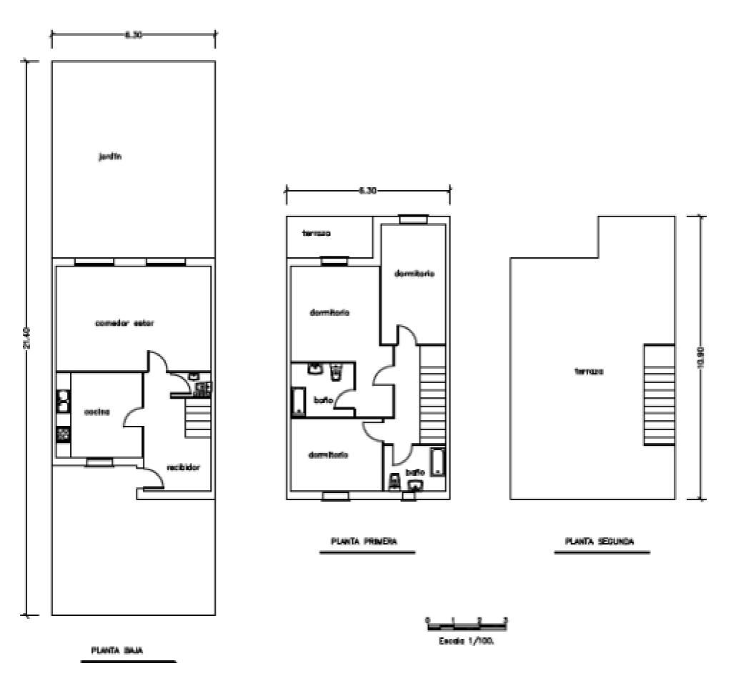 Casa en venta en Barri Immaculada, Reus, Tarragona, Calle Celia Artiga Esplugas, 250.500 €, 3 habitaciones, 3 baños, 109 m2