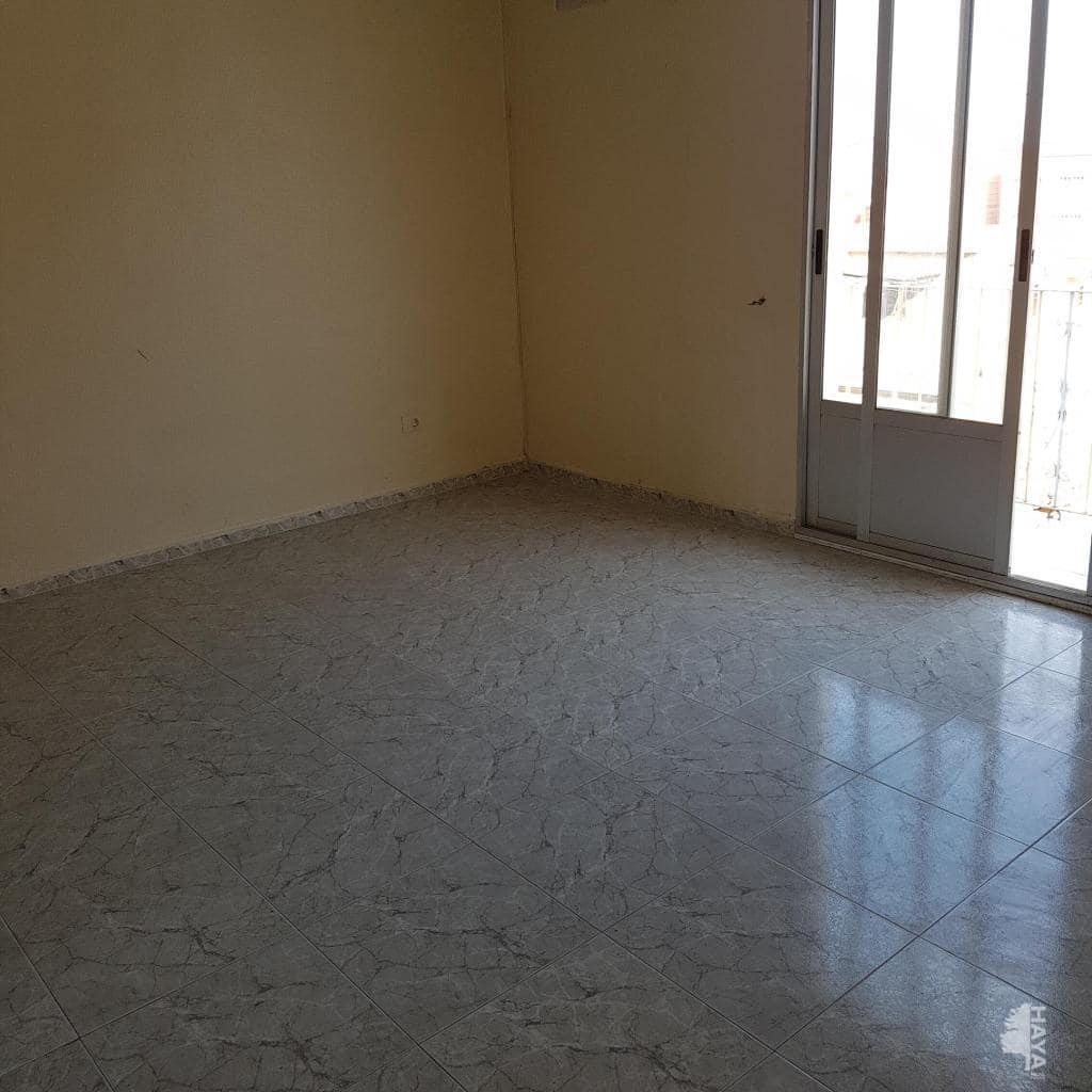 Piso en venta en Manuel, Burriana, Castellón, Calle Sant Domènec Savio, 47.900 €, 3 habitaciones, 1 baño, 78 m2