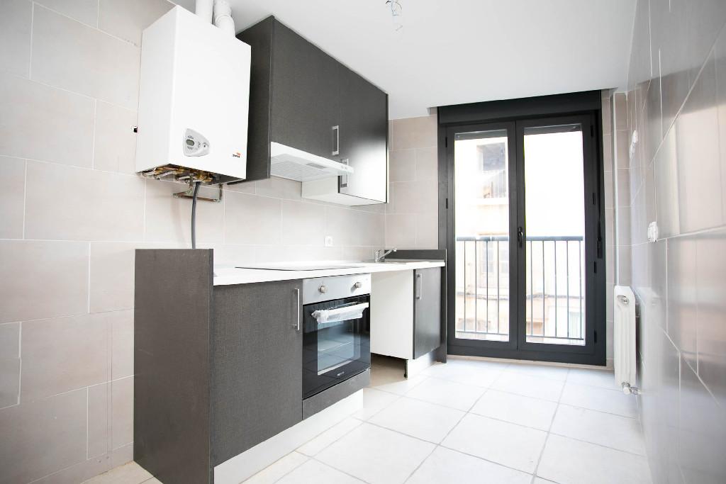 Piso en venta en Nájera, La Rioja, Calle San Marcial, 69.500 €, 2 habitaciones, 1 baño, 89 m2