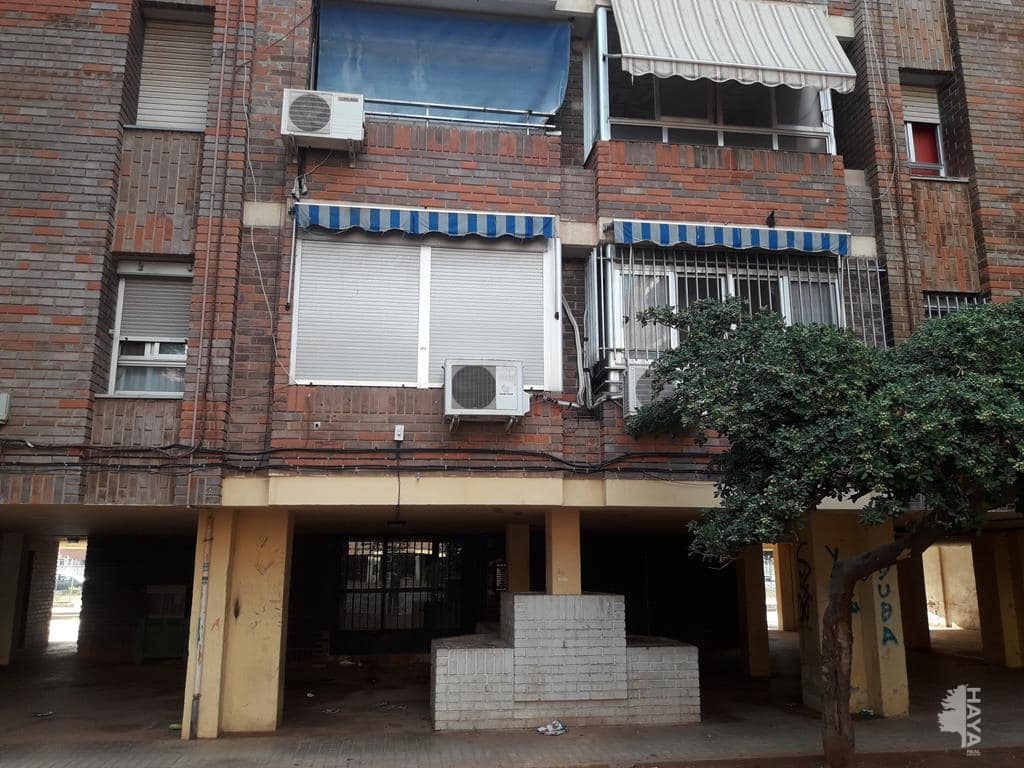 Piso en venta en Sagunto/sagunt, Valencia, Plaza Juan Ramon Jimenez, 34.672 €, 3 habitaciones, 1 baño, 108 m2