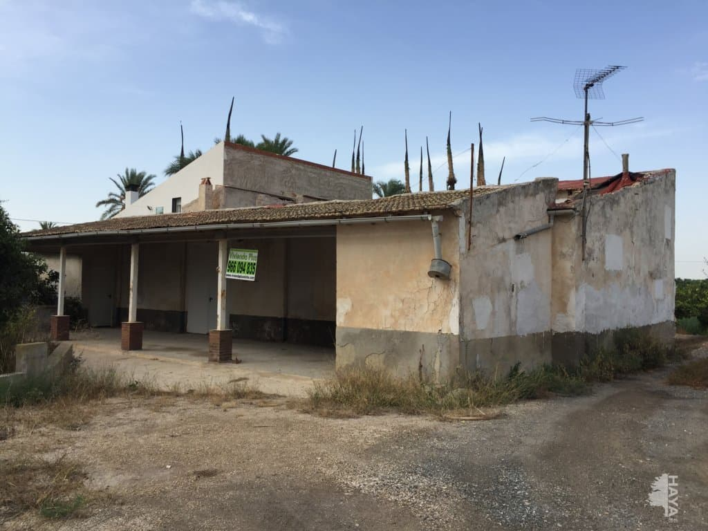 Casa en venta en Elche/elx, Alicante, Calle Pda.daimes, 44.425 €, 1 baño, 158 m2