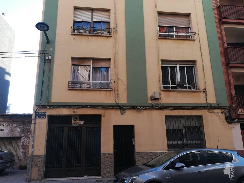 Piso en venta en Virgen de Gracia, Vila-real, Castellón, Calle Benedito, 47.145 €, 3 habitaciones, 1 baño, 109 m2