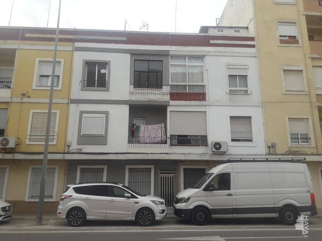 Piso en venta en Ausias March, Carlet, Valencia, Calle Vilanova, 38.745 €, 3 habitaciones, 1 baño, 61 m2