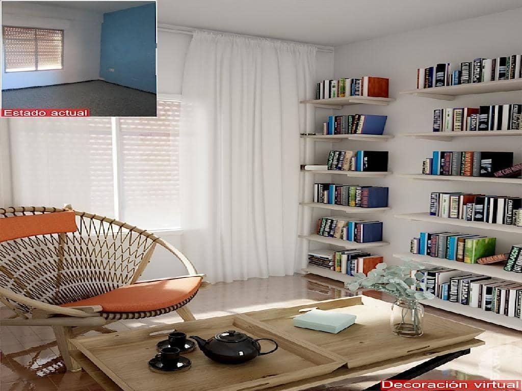 Piso en venta en Villena, Alicante, Avenida Constitucion De, 40.000 €, 4 habitaciones, 2 baños, 126 m2