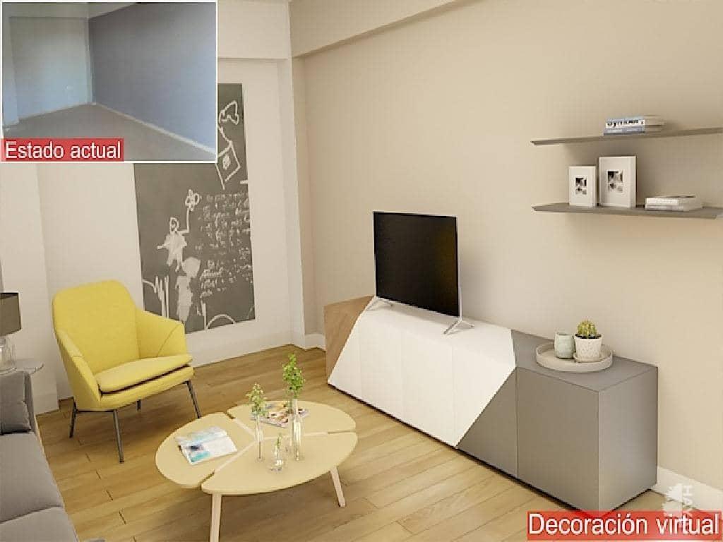 Piso en venta en Ausias March, Carlet, Valencia, Calle Pintor Ginesta, 60.500 €, 3 habitaciones, 1 baño, 79 m2