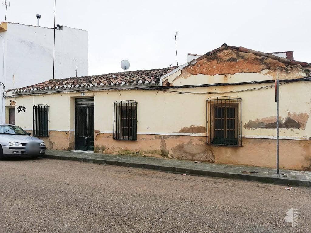Casa en venta en Tomelloso, Ciudad Real, Calle Melquiadez Alvarez, 34.500 €, 3 habitaciones, 1 baño, 109 m2