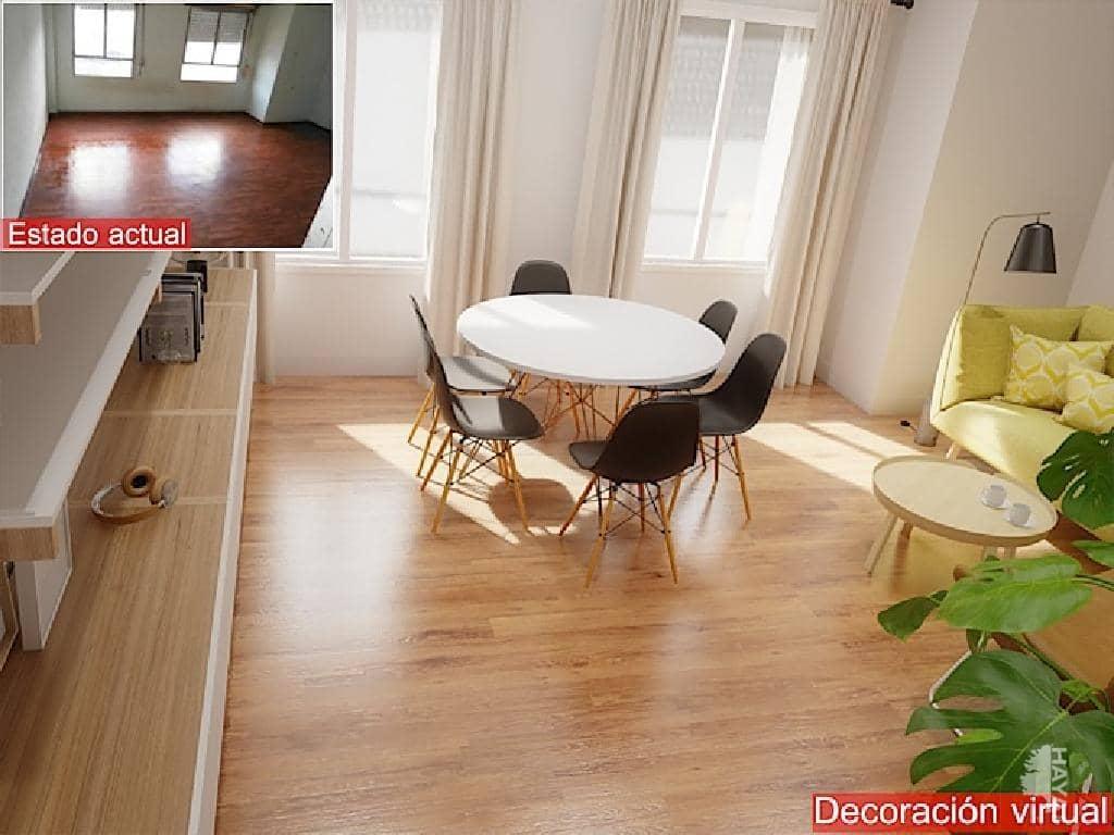 Piso en venta en Vila-real, Castellón, Calle Torrehermosa, 41.200 €, 3 habitaciones, 1 baño, 121 m2