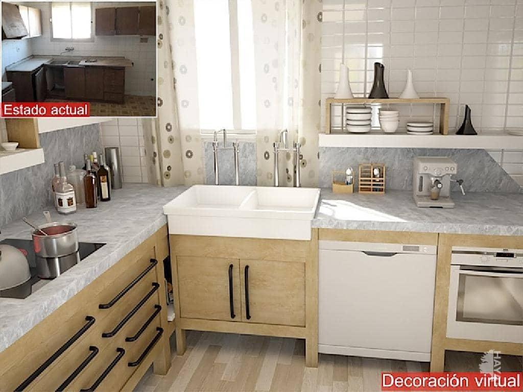Casa en venta en Benissa, Alicante, Calle Escoto, 66.700 €, 3 habitaciones, 3 baños, 138 m2