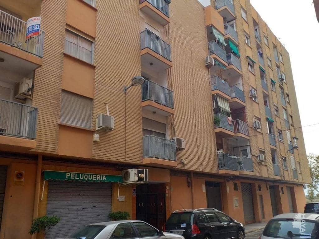 Piso en venta en Sagunto/sagunt, Valencia, Calle L`alacantí, 62.300 €, 4 habitaciones, 1 baño, 98 m2