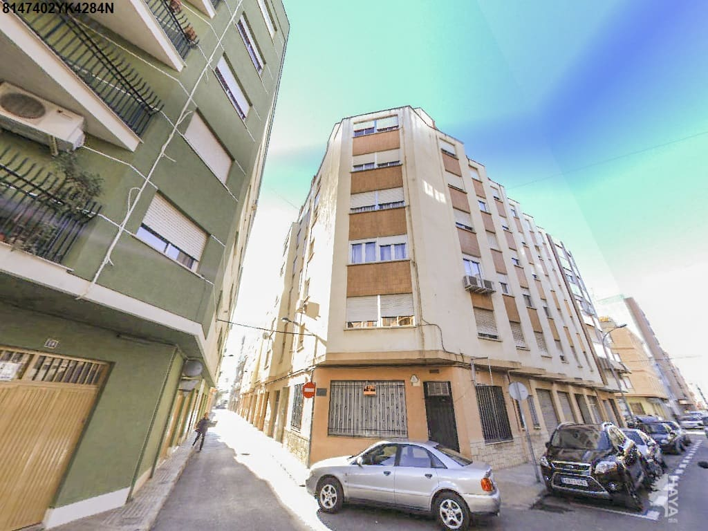 Piso en venta en Vila-real, Castellón, Calle Peñiscola, 44.038 €, 3 habitaciones, 2 baños, 94 m2
