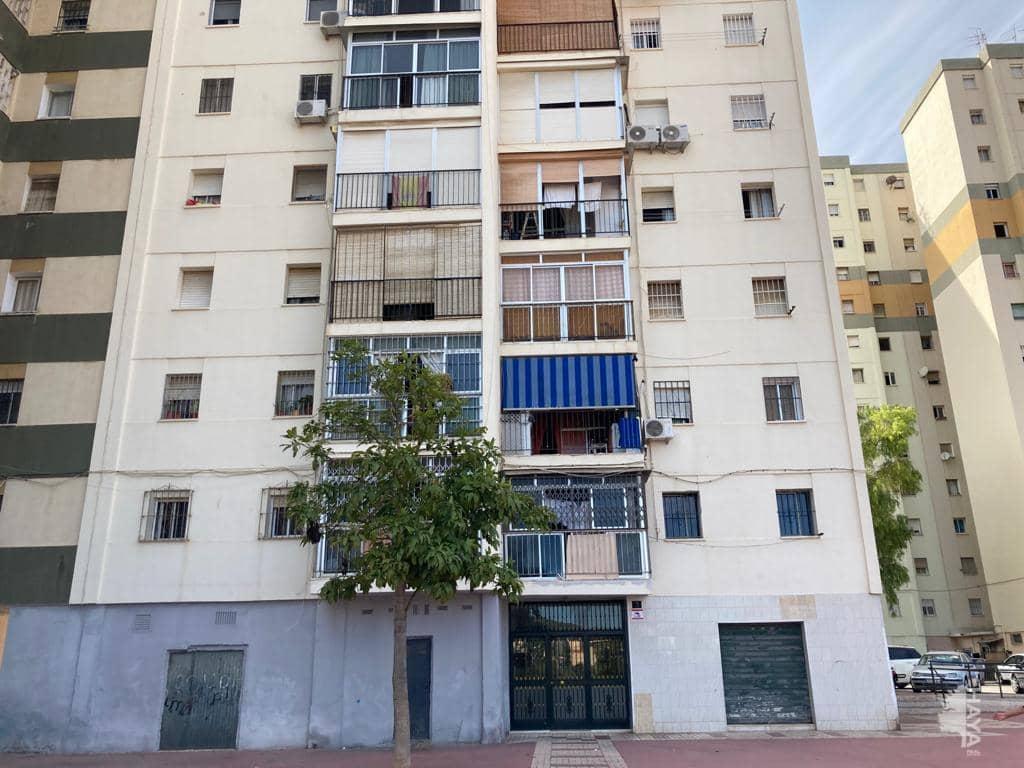 Piso en venta en Málaga, Málaga, Calle Eume, 51.100 €, 3 habitaciones, 1 baño, 89 m2