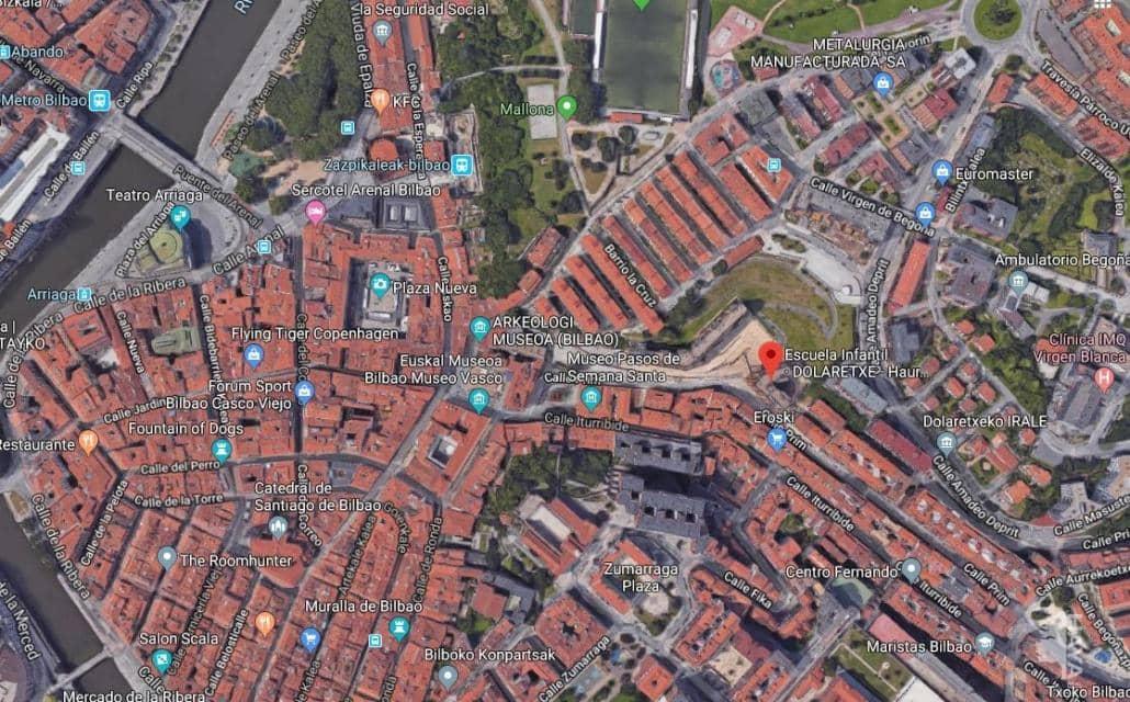 Suelo en venta en Begoña, Bilbao, Vizcaya, Calle Dolaretxe, 584.460 €, 1585 m2