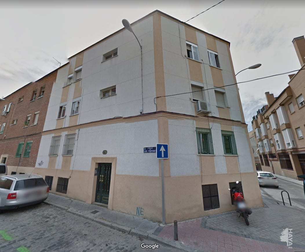 Piso en venta en Madrid, Madrid, Calle Luis Portones, 115.901 €, 3 habitaciones, 1 baño, 63 m2