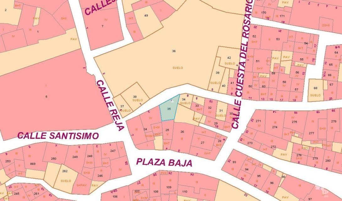 Suelo en venta en Corella, Corella, Navarra, Calle San Francisco, 73.500 €, 115 m2