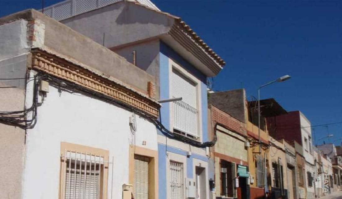 Piso en venta en Diputación de San Antonio Abad, Cartagena, Murcia, Calle Jose Antonio Torres, 28.700 €, 1 habitación, 1 baño, 44 m2
