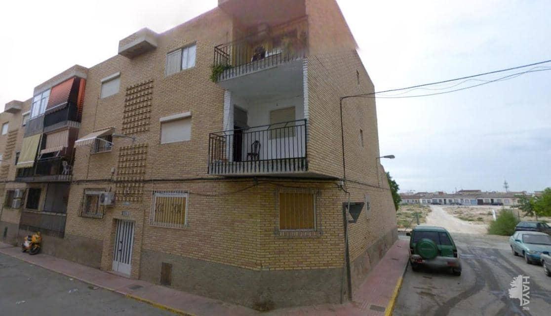 Piso en venta en Las Torres de Cotillas, Murcia, Calle Cieza, 27.400 €, 3 habitaciones, 1 baño, 99 m2