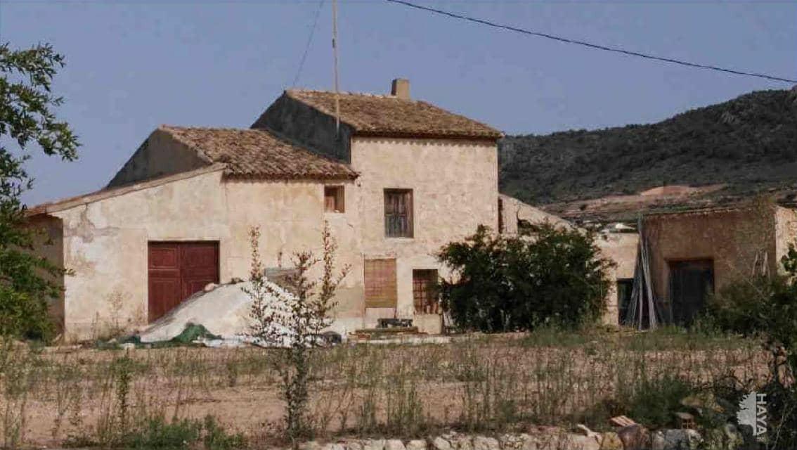 Casa en venta en La Montañosa, la Romana, Alicante, Calle de Palaos, 34.700 €, 1 habitación, 1 baño, 43 m2