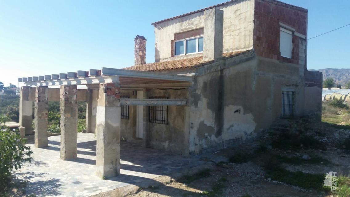 Casa en venta en Crevillent, Alicante, Calle Partida El Boch, 86.700 €, 3 habitaciones, 2 baños, 97 m2