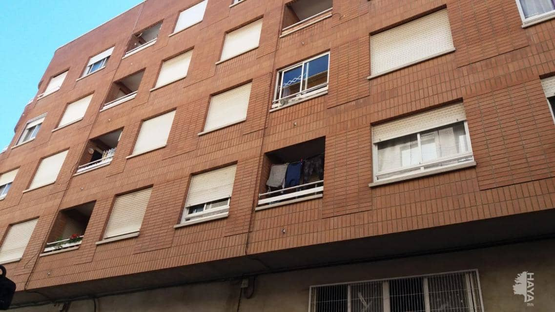 Piso en venta en Almazora/almassora, Castellón, Calle Santo Tomas, 100.700 €, 4 habitaciones, 2 baños, 122 m2