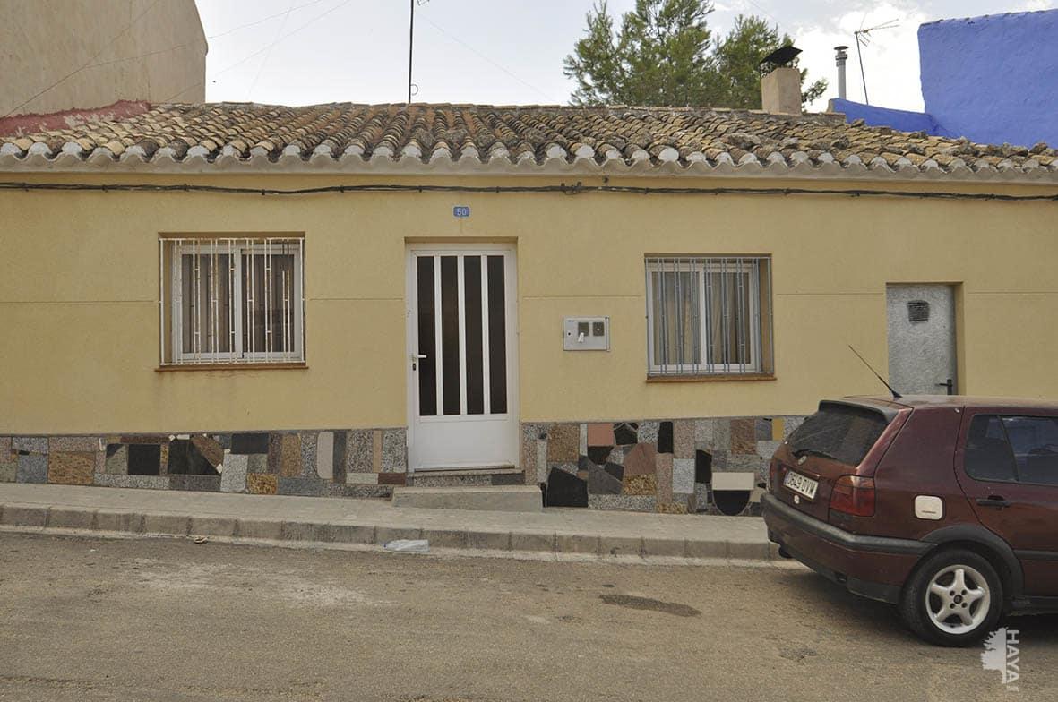 Casa en venta en Tobarra, Albacete, Calle Tercera del Collado, 37.231 €, 2 habitaciones, 1 baño, 100 m2