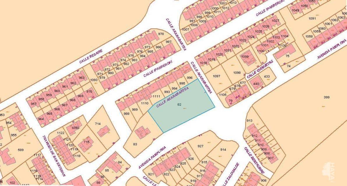 Suelo en venta en Cáseda, Beriáin, Navarra, Calle Akarabartea, 405.500 €, 2224 m2