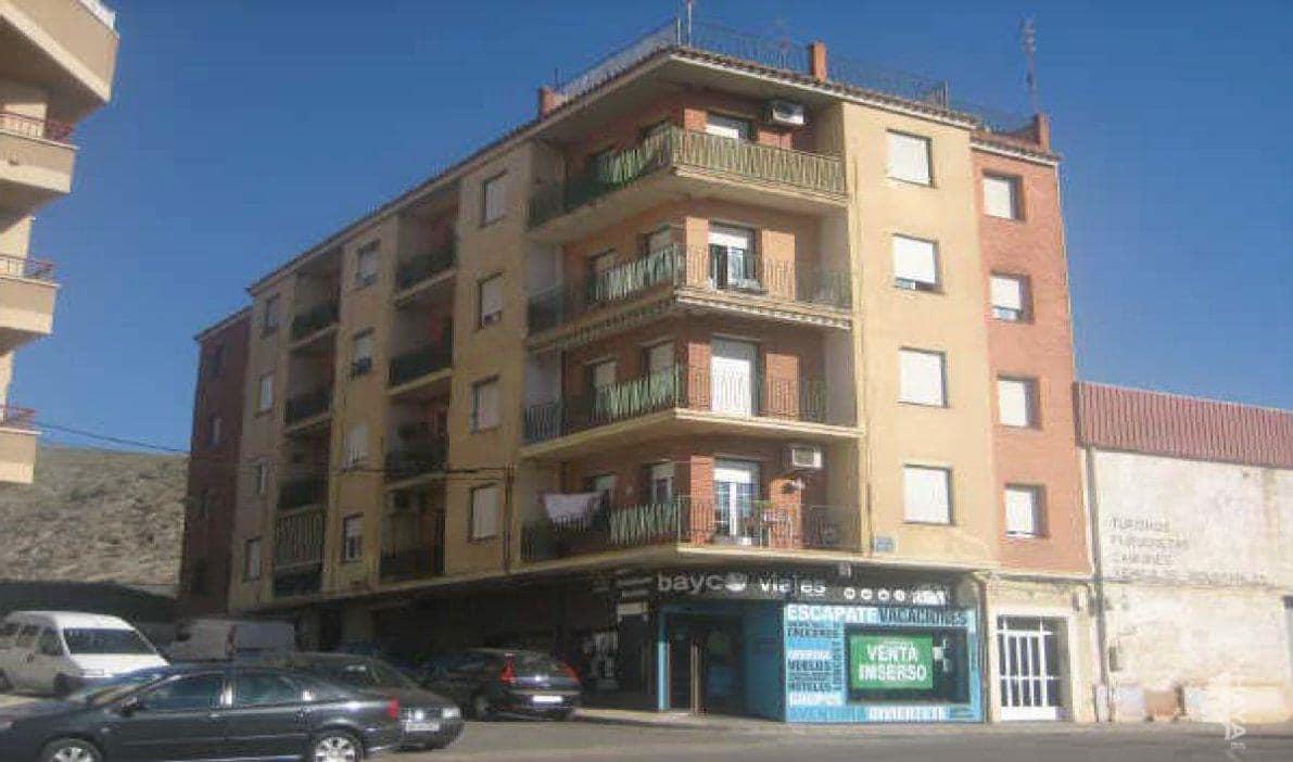 Piso en venta en Hellín, Hellín, Albacete, Avenida Poeta Mariano Tomas, 45.100 €, 3 habitaciones, 1 baño, 78 m2