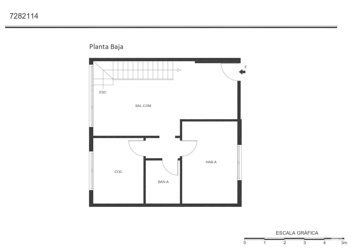 Piso en venta en Sabadell, Barcelona, Calle Eduard Brossa, 166.800 €, 3 habitaciones, 2 baños, 76 m2