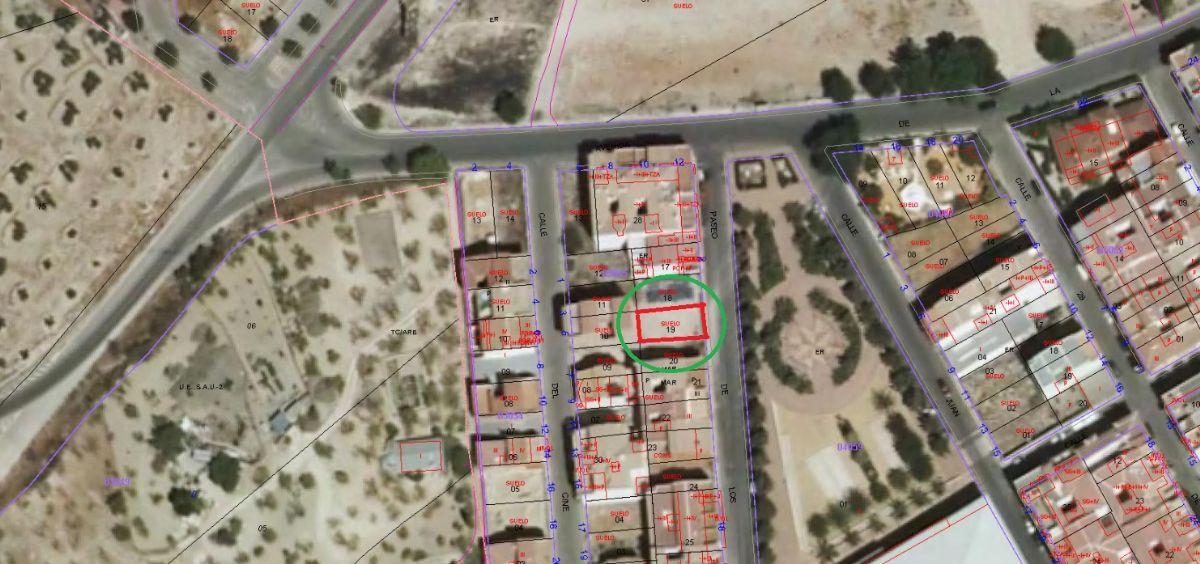 Suelo en venta en Torre del Campo, Jaén, Paseo de los Aceituneros, 93.000 €, 139 m2