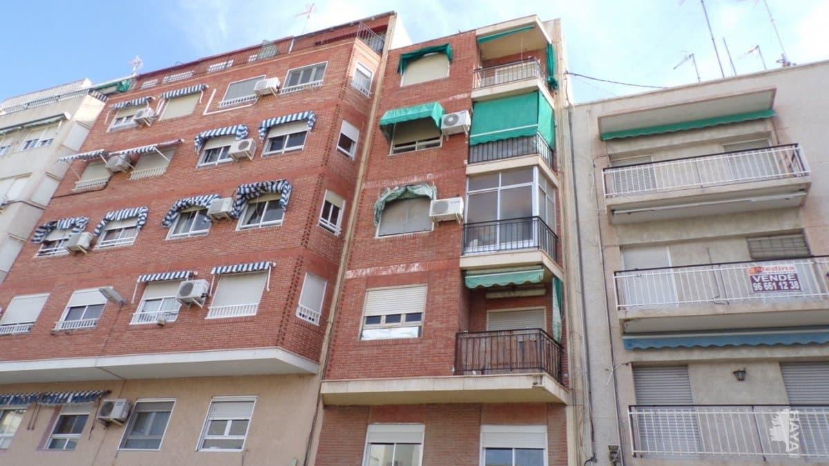 Piso en venta en Elche/elx, Alicante, Calle Jose Mas Esteve, 42.400 €, 4 habitaciones, 1 baño, 106 m2
