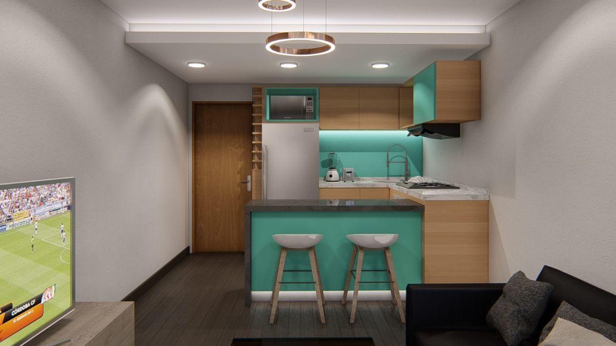Piso en venta en 40060, Madrid, Madrid, Calle Binefar, 99.000 €, 1 habitación, 1 baño, 45 m2