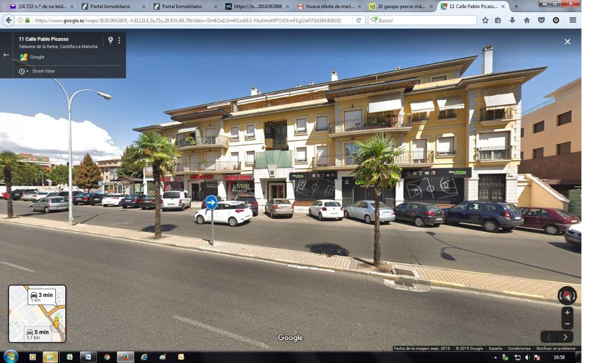 Parking en venta en 50690, Talavera de la Reina, Toledo, Justiniano López Brea, 9.800 €, 18 m2