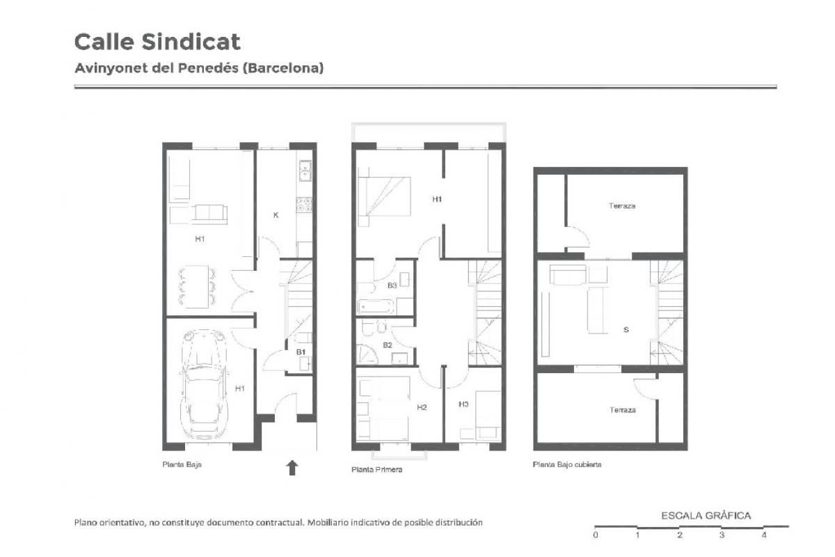 Casa en venta en Avinyonet del Penedès, españa, Calle Sindicat, 175.000 €, 3 habitaciones, 3 baños, 156 m2