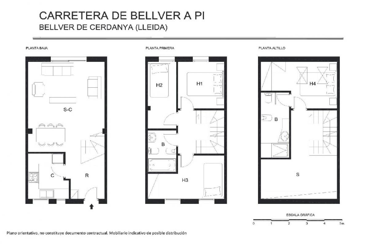 Casa en venta en Bellver de Cerdanya, españa, Calle Cuesta de Bellver A Pi, 261.000 €, 4 habitaciones, 2 baños, 147 m2